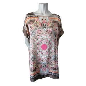 Soya Concept Silky Handkerchief Top Size M/L